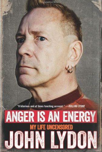 Anger is energy by John Lydon