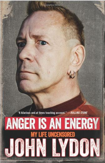 Anger is energy by John Lydon