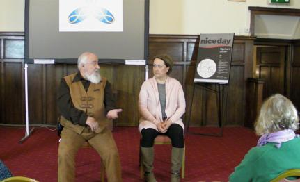 Putnoki Tibor tells his story - a view from the audience at Lampeter